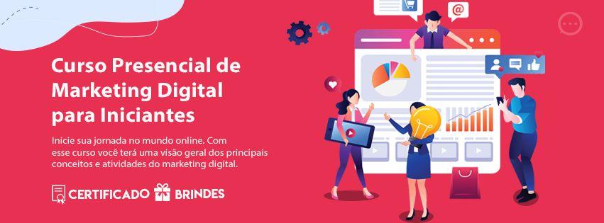 Curso Presencial de  Marketing Digital  para Iniciantes